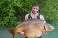 Here she is, the biggest resident that swims in Gigantica