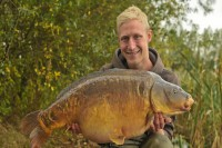Jake with one of many autumn jewels