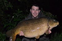 The scales settled at 39lb 12oz
