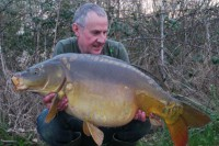 Neil Raison caught this lovely 36lb mirror and six others