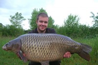 A lovely dark 30lb common