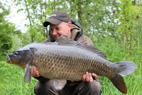 An angry looking 24lb 6oz common