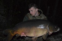 That same night Tom had a mad few hours angling