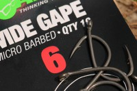 Size six Wide Gapes are Scotts hooks of choice