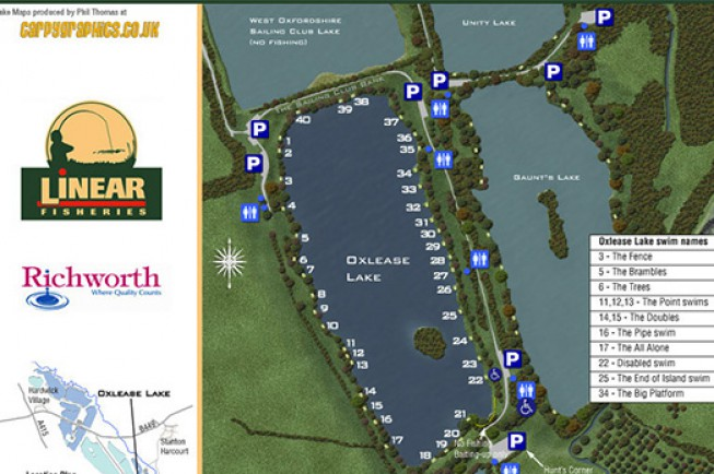 This years BYCAC is held on Oxlease Lake