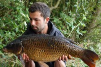 Luke displaying a cracking looking Quarry common