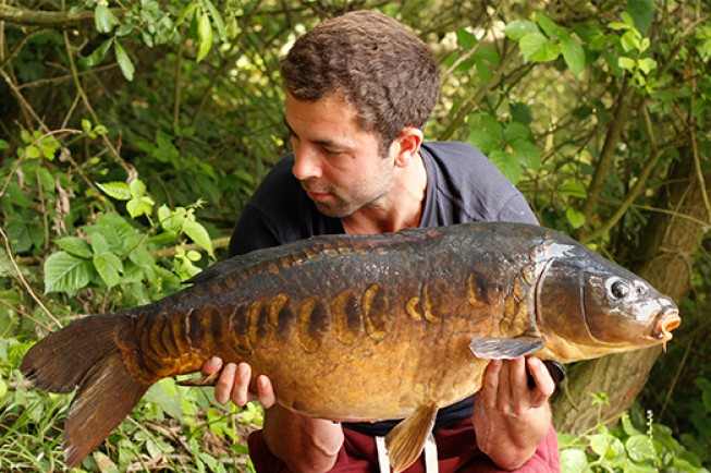 Luke Vallory has recently been enjoying some fruitful action