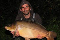 A short battle resulted in this 34lb 4oz mirror