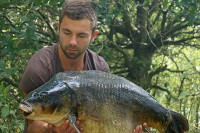 The result, an old mirror known as Two Scrapes at 34lb