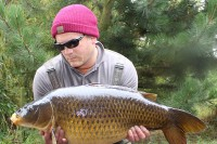 This 20lb common was the smallest of the session