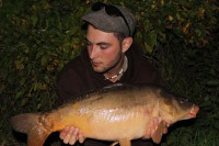 As the darkness drew in, Josh managed to winkle out this stocky