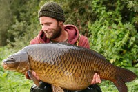 Another 38lb common told Darrell that he was doing it right