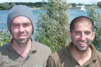 Could these cheeky chaps lead Korda to victory?