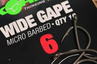 A size six Wide Gape is always Scotts number one hook choice