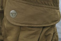 The thigh pockets have been designed and located for easy access