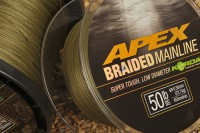 Peder was armed with 50lb Apex mainline