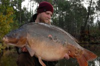 The biggest mirror of the trip at 57lb 7oz