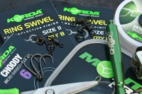 These are the components Craig uses to tie his Chod rigs