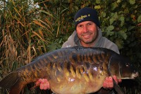 Dave has started his winter campaign on Cleverly Top Lake