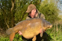 Ed Betteridge got off to a flier on his new lake