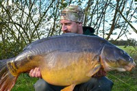 This 31lb 2oz mirror was just the start of things to come