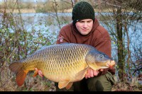 The other side of Craig's 32lb 10oz common