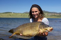 Caroline with a fin-perfect common