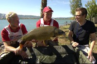 Korda Team England with one of their Italian carp