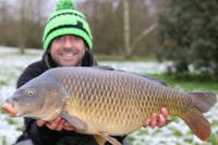 Ben Hervey-Murray with a winter common