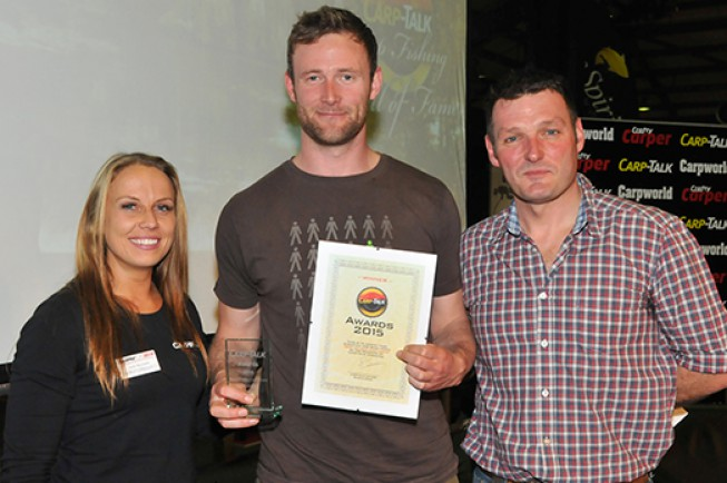 Korda swept the board in the recent Carp Talk Awards