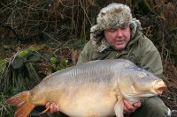 Alan's bug-eyed 45lb mirror