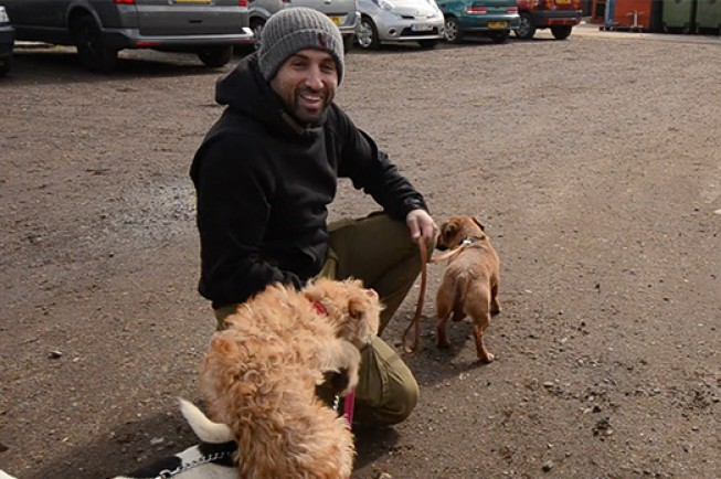 Ali is a patron of AA Dog Rescue in Essex