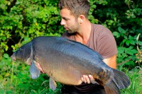 This lovely grey mirror lives in one of Luke's favourite lakes