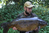 This epic carp is called the Fighting Machine