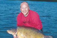 Steve Broad spent many an hour outwitting this fine carp
