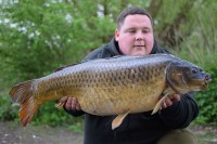 This lovely long common came along with another four fish