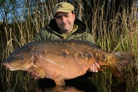 Ian was over the moon with this 41lb mirror
