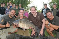 The Carp Academy teams up young anglers