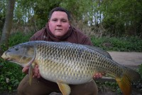 This 28lb 12oz common came as part of a five-fish overnight haul