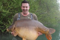 One of the other amazing big Gigantica mirrors caught recently