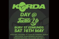 The event is being held at Tackle Up's Bury St Edmunds shop