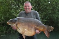 Tuesday saw Dave catch 65lb Robert's Fish