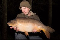Tom's friend John also had this 16lb mirror