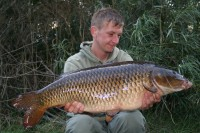 The Dark Common weighing 22lb 4oz