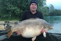 Richie's trip to Carpa Sens culminated in this 66lb mirror
