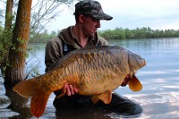 Smithy's big-plated 37lb mirror