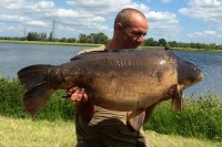 John with a stunning 'Stow mirror