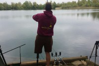Action at Orchid Lakes recently