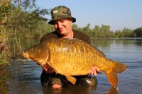 The other side of Darren's stunning fully-scaled mirror