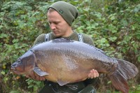 Scott with Pearly at 38lb